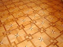 pavimento con intarso