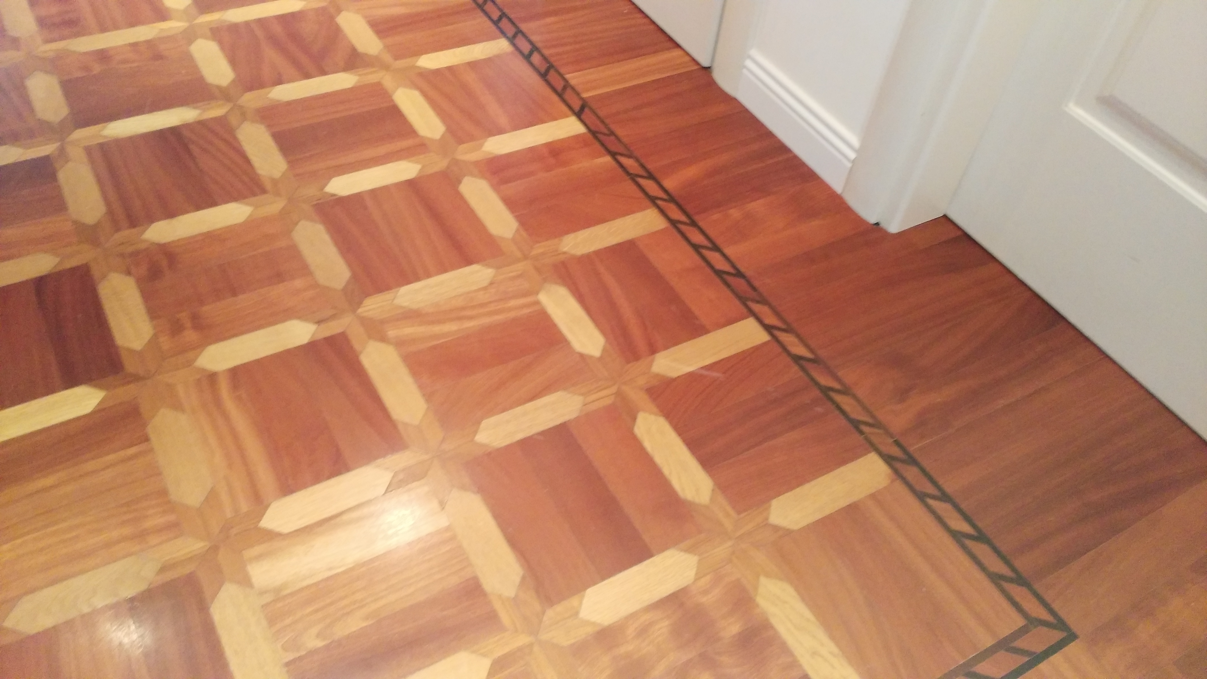Tappeto in legno ad intarsio - De Lorenzis Parquet